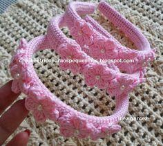 Crochet Tutorial: Little Princess tiara (two) - maomao - my heart action