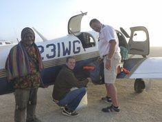 "Maggie, the Mooney, in Papua-Neuguinea. Around the World in 80 days in a small aircraft. Read the book ""360 westwärts"" of Johannes Burges. http://360grad.burges.de"