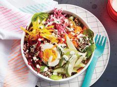 Rainbow Veggie Quinoa Bowl