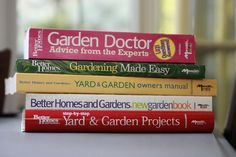 Five excellent gardening books to have on your bookshelf from Better Homes and Gardens. @Better Homes and Gardens