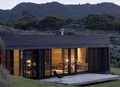 así podría ser mi cabaña de fin de semana --> New Zealand Mountain Retreat Outdoor