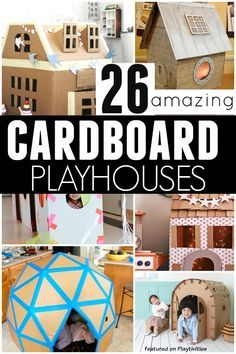 diy cardboard crafts ideas best of 26 coolest cardboard houses ever creative makings of diy cardboard crafts ideas Kids Crafts, Projects For Kids, Diy For Kids, Craft Projects, Reading Projects, Kids Fun, Diy Toys For Toddlers, Design Projects, Decor Crafts