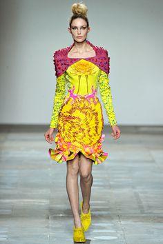 Mary Katrantzou Fall 2012 via Style.com