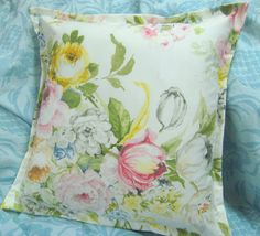 HOME LAKE  Pair Custom Made Decorative Square Pillow by Sew1Pretty, $22.00