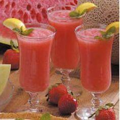 Melon+Fruit+Slush