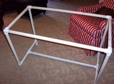 Simple PVC quilt frame