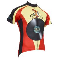 Velo Records Men's Short Sleeve Jersey