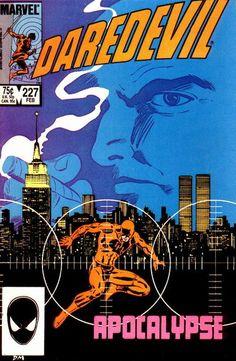 Daredevil 227. Miller and Mazzucchelli. La serie luego intitulada Born Again, hasta el número 231. Maravilloso. Lo mejor.