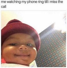 "75 Introvert Memes - ""Me watching my phone ring till I miss the call."" 75 Introvert Memes - ""Me watching my phone ring till I miss the call. Funny Relatable Quotes, Funny Quotes For Teens, Funny Quotes About Life, Super Funny Memes, Stupid Memes, Stupid Funny, Funny Stuff, Funny Things, Random Things"