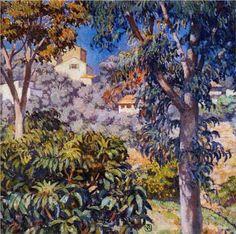 Noon Landscape - Theo van Rysselberghe