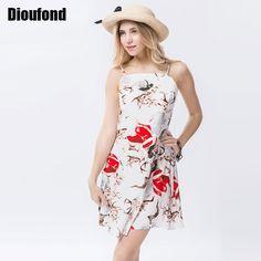 2017 Vintage Floral Printed Dress //Price: $18.68 & FREE Shipping //http://likeadiamondworld.com/dioufond-2017-vintage-floral-printed-dress-slim-robe-femm-women-mini-spaghetti-strap-vestido-sleeveless-women-dresses-summer/