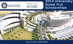2014 University of Dubai Full Scholarships and Discounts in UAE , and applications are submitted till July 31, 2014. University of Dubai is offering full scholarships and discounts for its new students. Among the lucrative offers, the University is giving 20% off tuition fees for the first 100 new eligible students who register for its bachelor's degree program before July 31, 2014. - See more at…