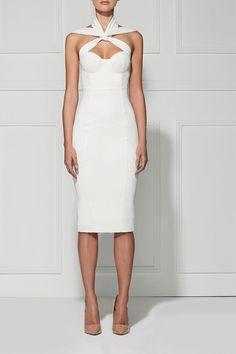 Brands,Sale,Dresses,New,Collections - Posh Girl Whitney Halter Bandage Dress