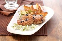 Sausage recipes # potato wedge oven meatballs, potato wedges and tzatziki … - Wurst Sausage Recipes, Potato Recipes, Veggie Recipes, Tzatziki, Baked Apple Pancake, Potatoe Wedges In Oven, Tapas, Cream Cheese Muffins, Cheesecake