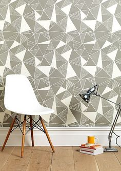 Repeating Triangle Pattern - Tessellations in design