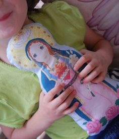 Immaculate Heart of Mary Fabric Doll KIT  by SaintAnneStudio, $12.00