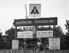 Adventure Playground photo by Nancy Rudolph | Documentary info