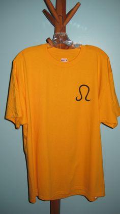 Leo Crossword T-shirt (Front)