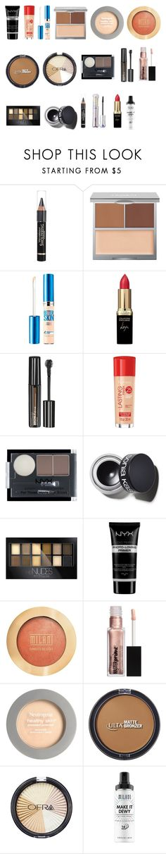 """MOTD"" by tyronewelle ❤ liked on Polyvore featuring beauty, Anrealage, The Honest Company, Maybelline, L'Oréal Paris, Rimmel, NYX, Sonia Kashuk, Milani and Neutrogena"