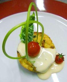 Tortino di fave e fonduta di pecorino , ricetta inserita da Stefano Borrelli
