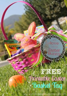 Making Life Whimsical: With Love from the Easter Bunny!