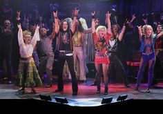 Set Design For The Philippine S Quot Rock Of Ages Quot Broadway