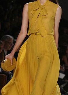 Golden Delicious: Elie Saab Spring 2012RTW