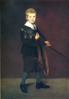 Boy with a sword by @artistmanet #realism