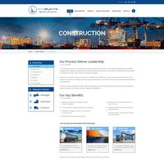 Freelance Projects Website Design for a Logistics Company by OMGuys™