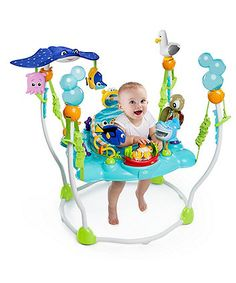 Your little one can surround themselves with their favourite fishy friends from Disney's Finding Nemo movie with this fun packed entertainment centre that features more than 13 different toys and activities and a unique jumping platform so they can bounce and play.