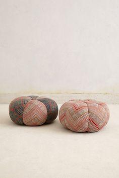 handwoven sawan pouf