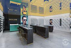 Glasses Display Showcase for retail store design