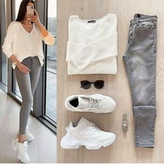 Casual College Outfits, Best Casual Outfits, Business Casual Outfits, Classy Outfits, Chic Outfits, Dusty Pink Outfits, Fashion Pants, Fashion Outfits, Outfit Invierno