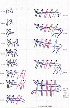 Good lace making instructions