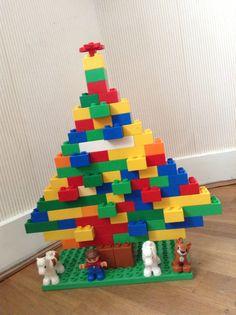 Duplo kerstboom