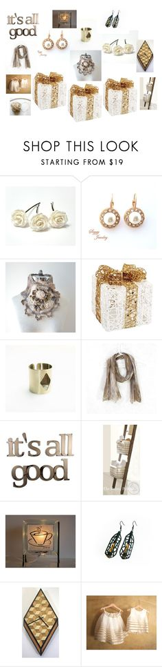 """""""Great gifts"""" by valeriebaberdesigns ❤ liked on Polyvore featuring Melrose International and Letter2Word"""