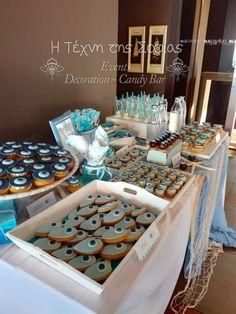 Αποτέλεσμα εικόνας για θεμα.βαπτισης ματι Cookie Wedding Favors, Party Rock, Event Decor, Sweet 16, Birthday Parties, Baby Shower, Diy Crafts, Projects, Project Ideas