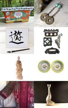 Asian Wind by pj on Etsy--Pinned with TreasuryPin.com
