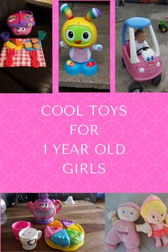 Cool toys for 1 year old girls include musical toys, dolls for 1 year old, baby girl ride on toys, push toys, pull along toys, educational toys and books! Find out the best Birthday and Christmas gifts. My suggestions will help you work out what to buy a 1 year old girl for Christmas and her Birthday!