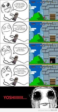 Noooooo Yoshi :(