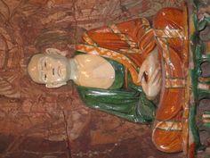 Lohan (Arhat) statue from China (British Museum, London)