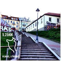 #nikeplus #latepost #vilnius #run #myrun #running #stairs #lithuania #morningrun #downtown #laripagi #marilari #instarunner