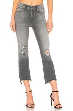 a0ec528dcf7a New MOTHER The Insider Crop Step Chew Jean online. Perfect on the Obey  womens-clothing from top clothing store.