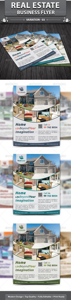 Real Estate Business Flyer | Volume 3  #GraphicRiver