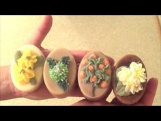 Making and Piping Oval Soaps for a Gift Set ~ Brambleberry Autumn Fragrance Collection - YouTube
