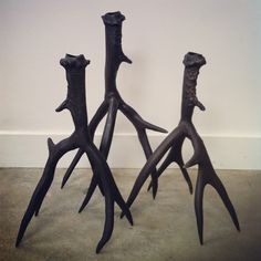 Roost antler candles stick holders. @providehome