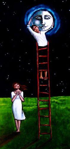 """he promised her the moon"" | jennifer yoswa"