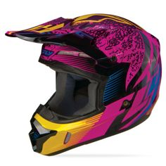 Kinetic Inversion Wild Helmet   FLY Racing   Professional grade Motocross, BMX, MTB, Offroad, ATV, Snowmobile, and Watercraft apparel and hard parts