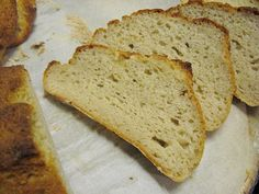 Gluten Free Vegan Crusty Bread Recipe ~ Gluten free, egg free, soy free, dairy free yeast bread.