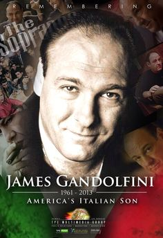 TPE TPEPost.com pays tribute to actor James Gandolfini known for his role as Tony Soprano in the Sopranos who died today RIP